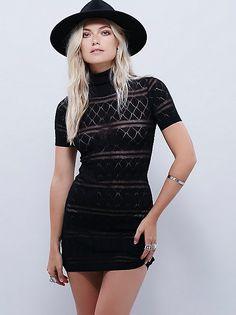 Stevie turtleneck dress
