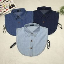 Apparel Accessories Plaid Fake Collar Shirt Women And Men Cotton Fake False Collar Shirt Blouse Ladies Kragen Fake Collar Women Detachable Collars