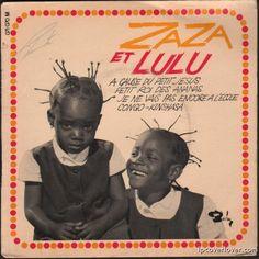 Zaza and Lulu Barclay Records EP (France)