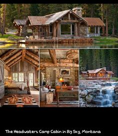 Cabin in Big Sky, Montana