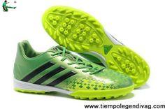 Low Price 2013 Adidas Predator LZ II TRX TF Turf Grass Green Black Soccer  Boots For b8fb230e4157b