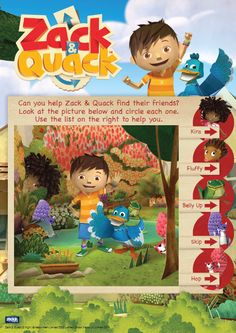 Zack and Quack Star Character, Tv Schedule, Can You Help, Nick Jr, Ui Inspiration, Video Clip, Colouring Pages, New Image, Preschool Activities