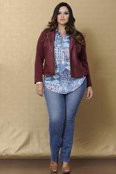 Resultado de imagem para camisa jeans feminina gg