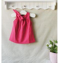 Mom and Bab Woolen Cloth Dress - Red - sadinashop.com  Dress atau gaun cantik untuk bayi dan anak perempuan.