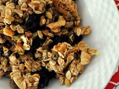 Eleven Madison Park's granola recipe. This stuff is to die for.