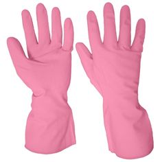 Household Rubber Glove, Pink