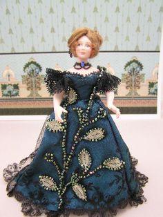 antique beadwork