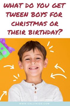 What should you get a tween boy for Christmas? A long list of popular toys and gifts that tweens love to have and hope that you'll buy it for them. :-) With this list, you'll surely find one for your tween. Birthday Gifts For Teens, Diy Birthday, Tween Boy Gifts, Cool Gifts, Best Gifts, Inexpensive Christmas Gifts, Unusual Presents, Farewell Gifts, 10 Year Old Boy