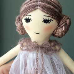 Short video of the new doll She's one of the most delicate girl I've ever made ☺️ Click the link in my profile to see more photos and all the details #freeshipping #shopsmall