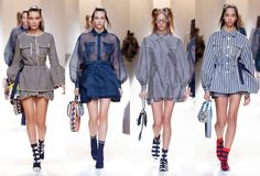 Discover Fendi's latest #FendiSS17 collection #MFW #SS17 #womenswear #catwalk #Milan #FahionShow Look_013