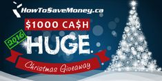 We're giving away $1,000 of our own money for Christmas 2016! Entering is free and easy so come join the fun.