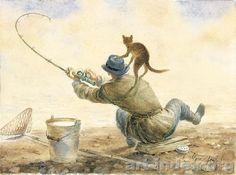 chats en peintures ( serie A )  (  V.R )