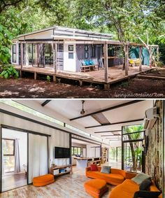 Tiny Container House, Building A Container Home, Container Buildings, Cargo Container, Shipping Container Home Designs, Shipping Containers, Shipping Container Homes Australia, Usa Living, House Built