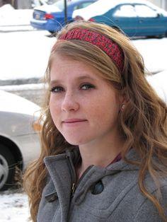 Homestitched: Ruffled Headband