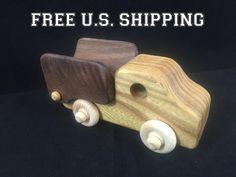 LIVRAISON gratuite aux États-Unis Camion à benne jouet en bois Montessori est…