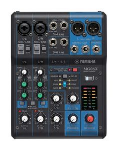 2b1128b1 BREAKING: Yamaha MG06X 6-Input Compact Stereo Mixer with Effects on sale  now -