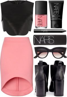 Untitled #75 by blesss featuring lace up heel booties