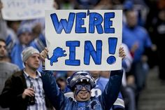 Lions are in the playoffs