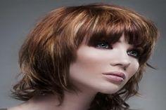 Hot Medium Layered Hairstyles 2012