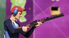 Shooter Peter Wilson won Britain's fourth gold medal of the London Olympics with victory in the double trap competition.