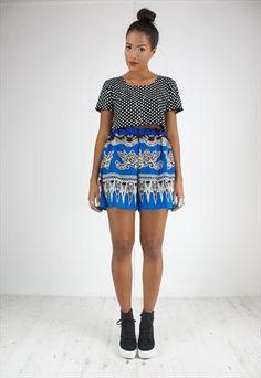 90's Vintage Shorts Oriental Ethnic Design from House of Jam #asosmarketplace #vintage £29