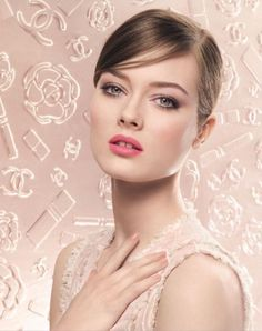 Chanel Spring 2013 Makeup Collection (Chanel Beauty) In this picture: Jac Jagaciak Credits for this picture: Sølve Sundsbø (Photographer)
