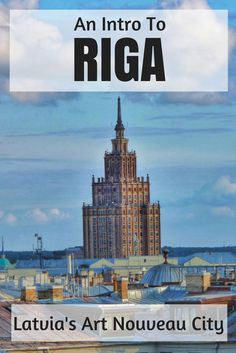 Latvia is an up and coming destinations with lots of things to do in Riga. There's the art nouveau district, cheap food, interesting people and sweet day trips making a three day trip minimum the best way to tackle the city.