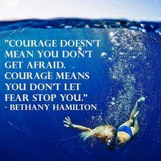 Courage - Bethany Hamilton