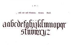 Typography - Alphabet - Ornamental, Renaissance, medieval  (22)