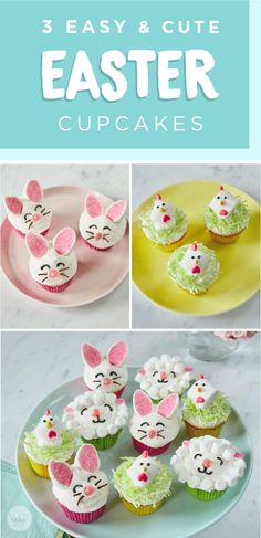 This Easter, offer to bring dessert to your family get together. These 3 easy and cute Easter cupcakes, inspired by Hallmark, are the perfect sweet treats for your holiday festivities. Click here to learn more and see step-by-step tutorials!