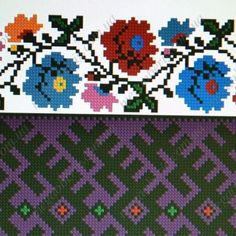 Folk Embroidery, Embroidery Patterns, Vintage Cross Stitches, Knitting Charts, Luxury Interior Design, Folklore, Kids Rugs, Crochet, Collars