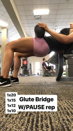Using the leg extensions for a glute bridge variation. Using the leg extensions for a glute bridge variation. How to build a bootyLatoya lost 173 poundsWorkout plan Fitness Workouts, Fitness Goals, Fitness Motivation, Health Fitness, Glute Workouts, Health Diet, Glute Bridge, Extreme Workouts, Workout Challenge