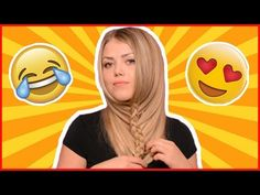 UNDER THE CHIN FLIP BACK BEARD BRAID / Hair Tutorial - YouTube