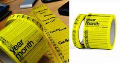 practical. useful. [calender tape]