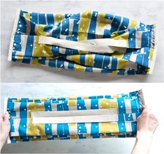 Origami Bag, Fabric Origami, Flat Felled Seam, Different Types Of Fabric, Accordion Fold, Pouch Pattern, Edge Stitch, Reusable Bags, Bag Making