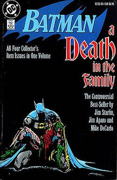 Batman: A Death In The Family. Iconic. Let's be honest, the book isn't that great. But the fact we fans voted Jason Todd to die? Crazy stuff.