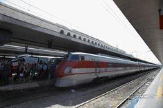 "Pendolino ""ETR450"" at Roma Termini Station"