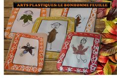 MATERNELLE-ARTS VISUELS-AUTOMNE-le bonhomme feuille - laclassedelena French Teaching Resources, Teaching French, Diy And Crafts, Crafts For Kids, Arts And Crafts, Outdoor Classroom, Outdoor Learning, Autumn Crafts, Land Art