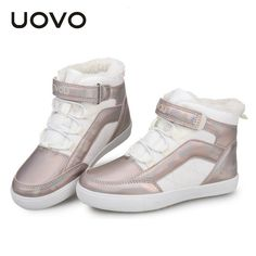 Cheap Sneakers, Buy Directly from China Suppliers:Children High Top Sneakers Uovo Brand Autumn Winter PU Leather Shoes with Velvet Lining Boys Girls Flat Casual Princess Zapatos Cheap Sneakers, High Top Sneakers, Leather Shoes, Pu Leather, Girls Flats, Fall Winter, Autumn, Boy Or Girl, High Tops