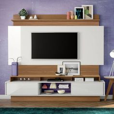 painel Home theaters Painel Home The - hometheaters Home Theaters, Home Rack, Painel Home, Hanging Tv On Wall, Tv Unit Furniture Design, Tv Wall Cabinets, Tv Cabinet Design, Simple Tv, Living Room Tv Unit Designs