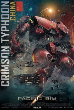 New PACIFIC RIM Poster Features Crimson TyphoonJaeger - News - GeekTyrant