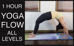 1 Hour Vinyasa Flow Yoga for All Levels - Wheel Pose