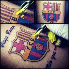 FC Barcelona Tattoo  I want that tattoo now
