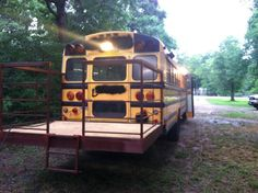 Sweatsville: Rustic School Bus Conversion