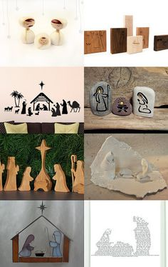 Nativities. #Christ #Christmas #Jesus
