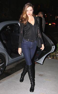 Bootsy Babe from Miranda Kerr's Street Style Elegant Outfit, Elegant Dresses, Celebrity Dresses, Celebrity Style, Celebrity News, Miranda Kerr Street Style, Dresses For Teens, Fashion Models, Ladies Fashion