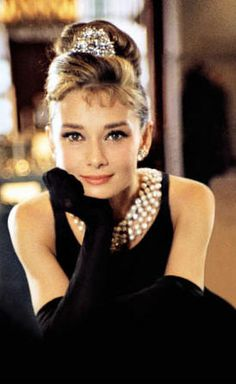 Breakfast at Tiffany's - just love Audrey