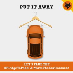 It's a necessity, it's a genius idea, it's going to save our generation and our planet. #PledgedToPedal #PedalON