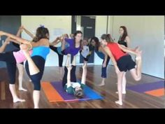 """Yoga Palette Teen Yoga flow Jessie J """"Who You Are"""" 2014 - YouTube"""