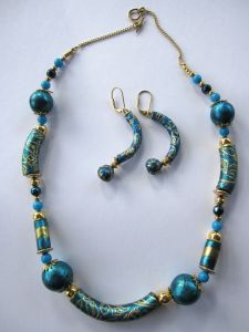 The Art of Friendly Plastic: Easy to make Cloisonne Beads with Friendly Plastic + Artist Feature
